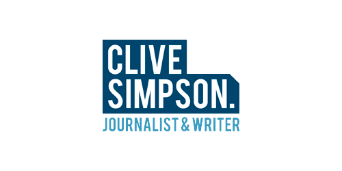 Clive Simpson Journalist and Writer