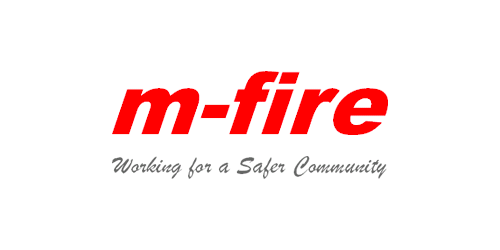 m-fire logo